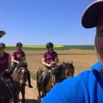 Selfie mit allen Reitern